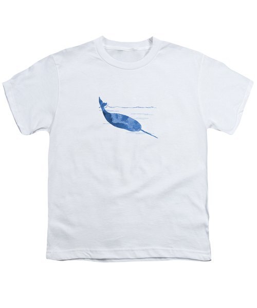 Narwhal Youth T-Shirt by Mordax Furittus