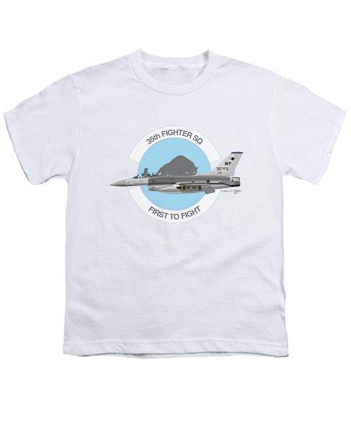 Lockheed Martin F-16c Viper Youth T-Shirt