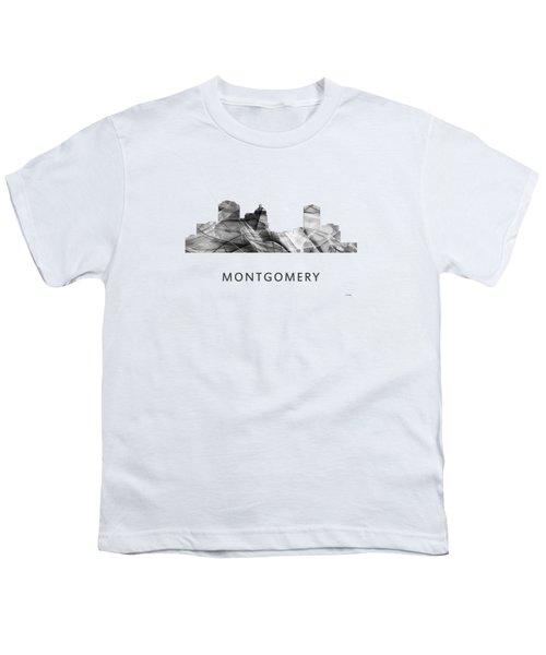 Montgomery Alabama Skyline Youth T-Shirt