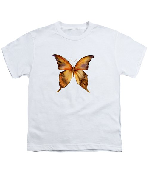 7 Yellow Gorgon Butterfly Youth T-Shirt