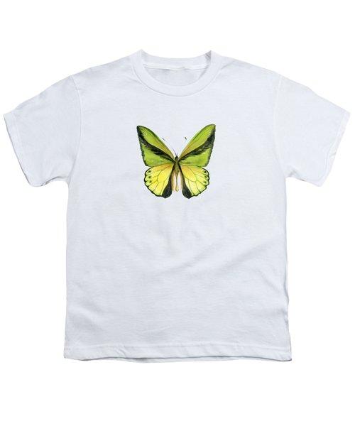 8 Goliath Birdwing Butterfly Youth T-Shirt
