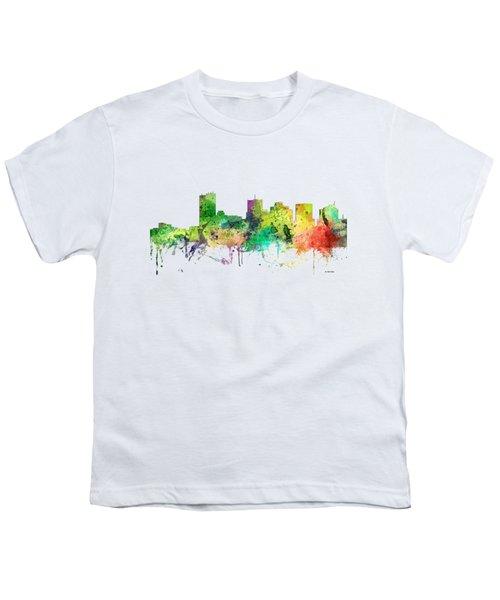 Phoenix Arizona Skyline Youth T-Shirt
