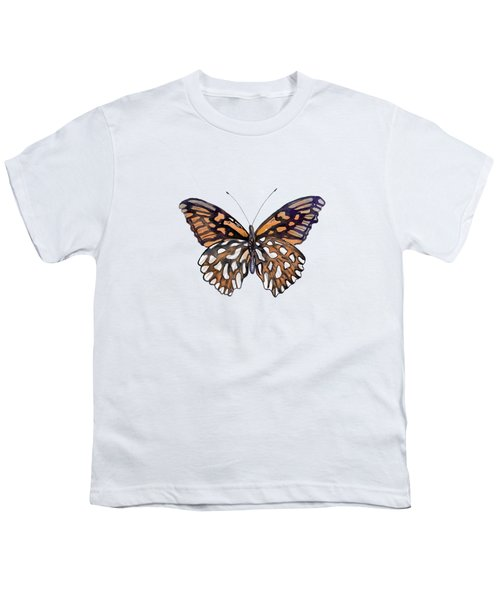 9 Mexican Silver Spot Butterfly Youth T-Shirt