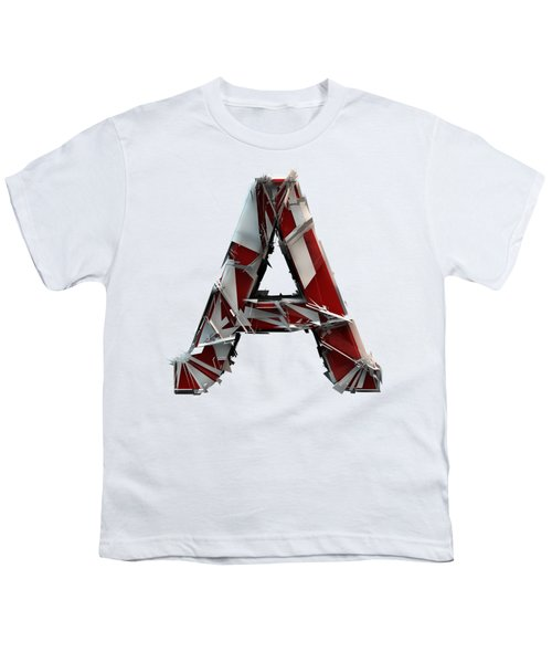 Youth T-Shirt featuring the photograph A Is For Apple by Gary Keesler