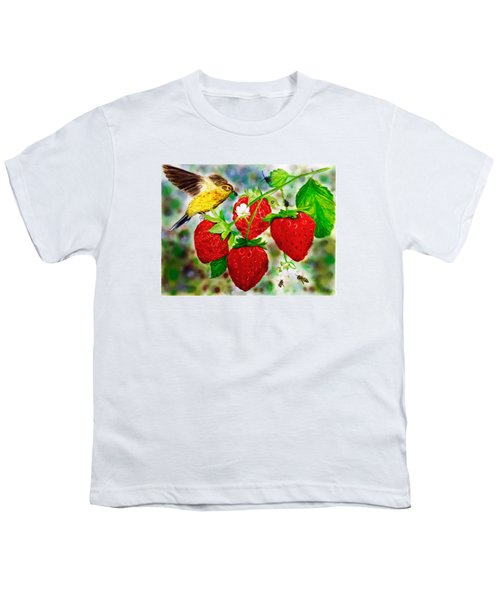 A Midsummer Daydream Youth T-Shirt by Asha Aravind