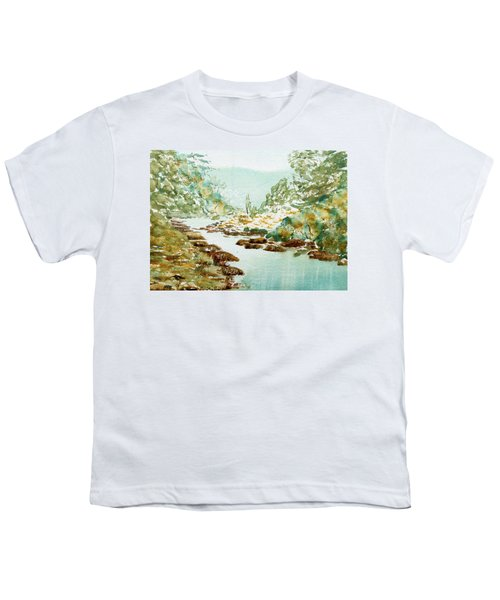 A Quiet Stream In Tasmania Youth T-Shirt