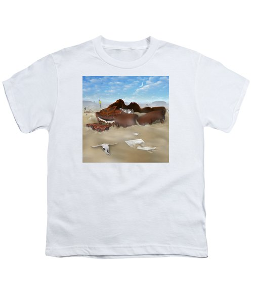 A Slow Death In Piano Valley Sq Youth T-Shirt by Mike McGlothlen