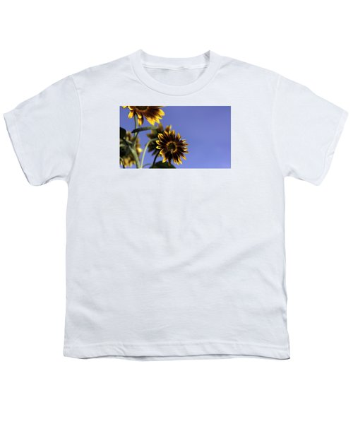 Youth T-Shirt featuring the photograph A Summer's Day by Lora Lee Chapman