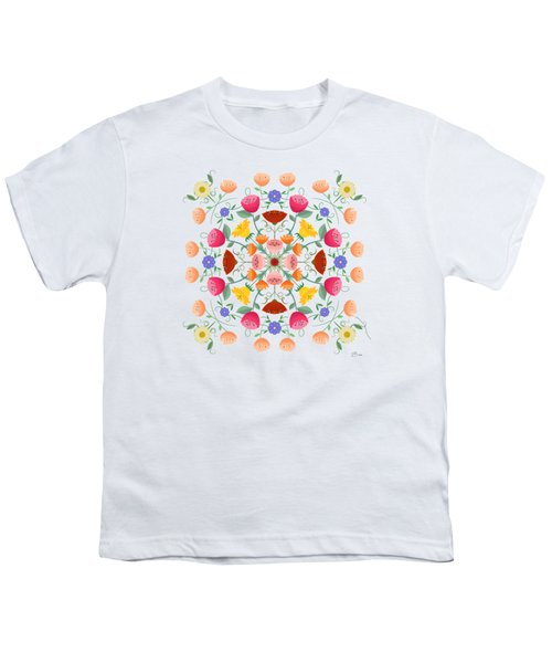 A Symphony Of Dancing Floral Delights Youth T-Shirt