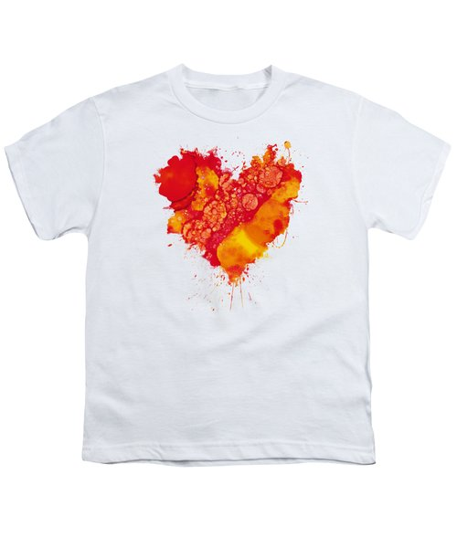 Abstract Intensity Youth T-Shirt by Nikki Marie Smith
