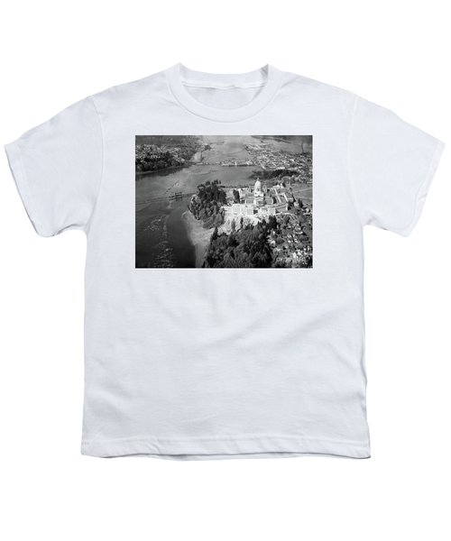 Aerial View Northward Over Olympia Youth T-Shirt