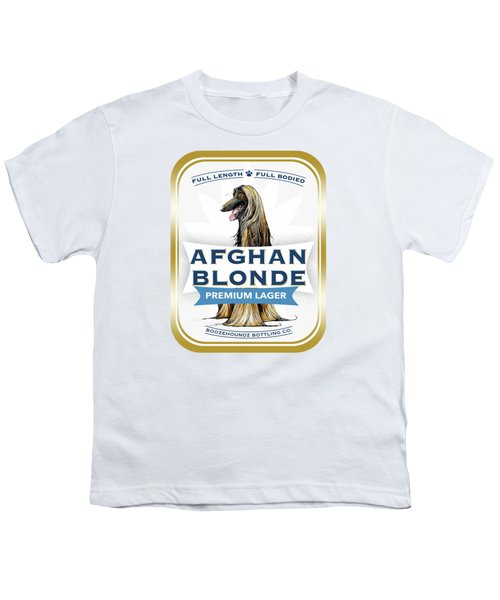 Afghan Blonde Premium Lager Youth T-Shirt