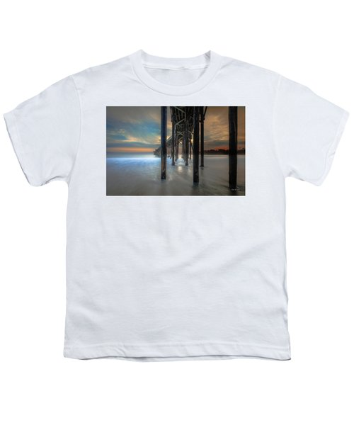 Afterglow At San Simeon Youth T-Shirt