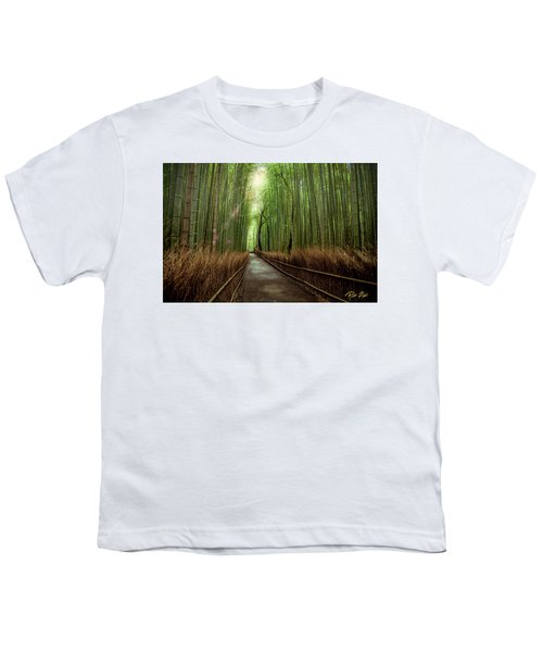 Afternoon In The Bamboo Youth T-Shirt by Rikk Flohr