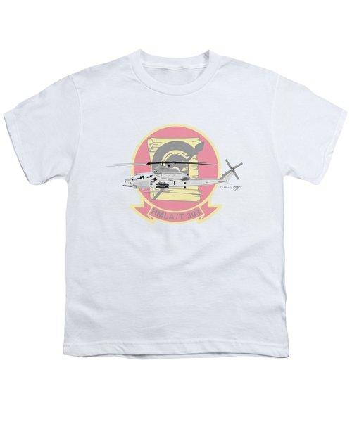 Ah-1z Viper Youth T-Shirt by Arthur Eggers