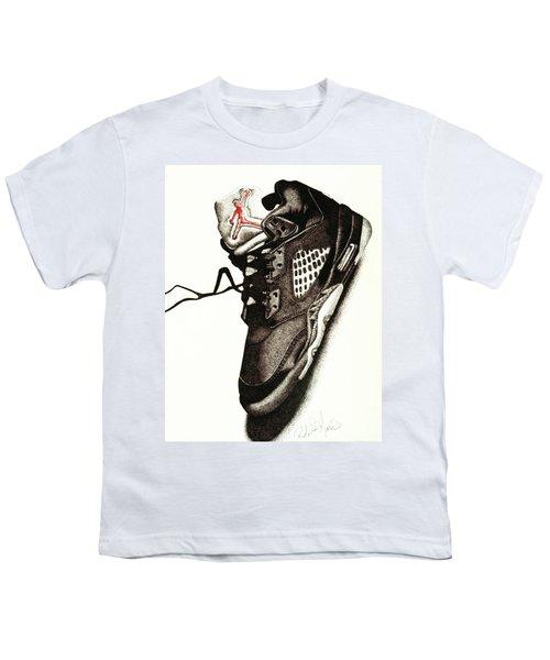 Air Jordan Youth T-Shirt by Robert Morin