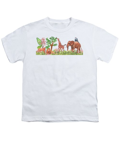 All Is Well In The Jungle Youth T-Shirt
