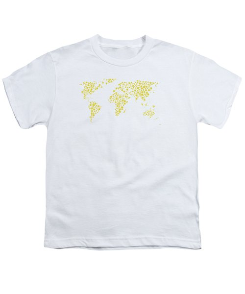 All The World Plays Tennis Youth T-Shirt