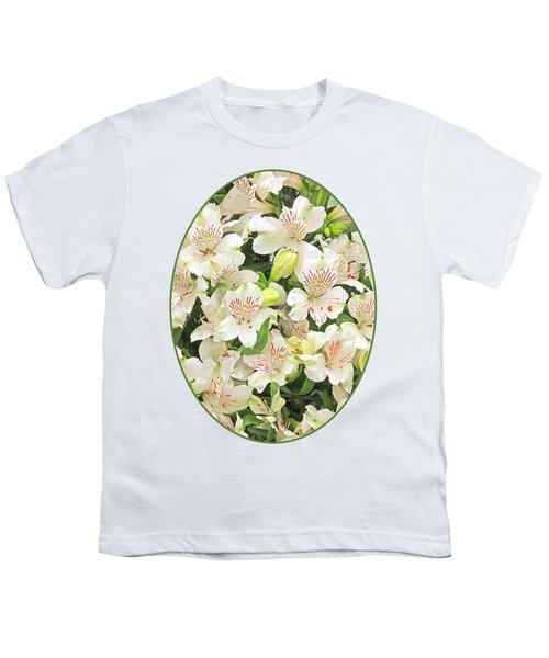 Alluring Alstroemeria - Peruvian Lilies Youth T-Shirt