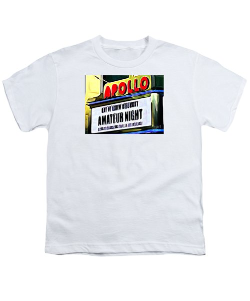 Amateur Night Youth T-Shirt by Ed Weidman