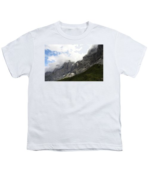 Angel Horns In The Clouds Youth T-Shirt