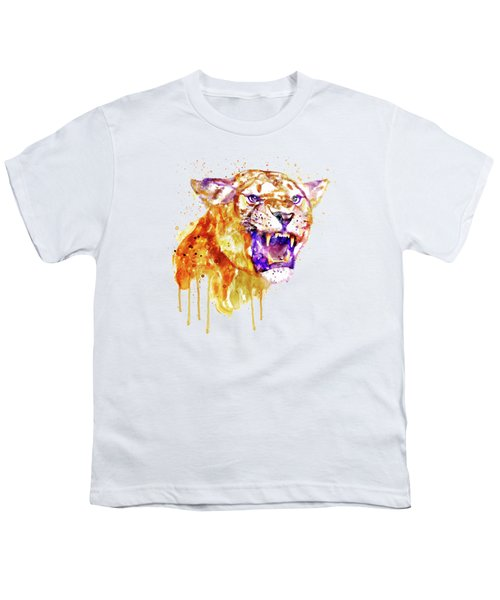 Angry Lioness Youth T-Shirt