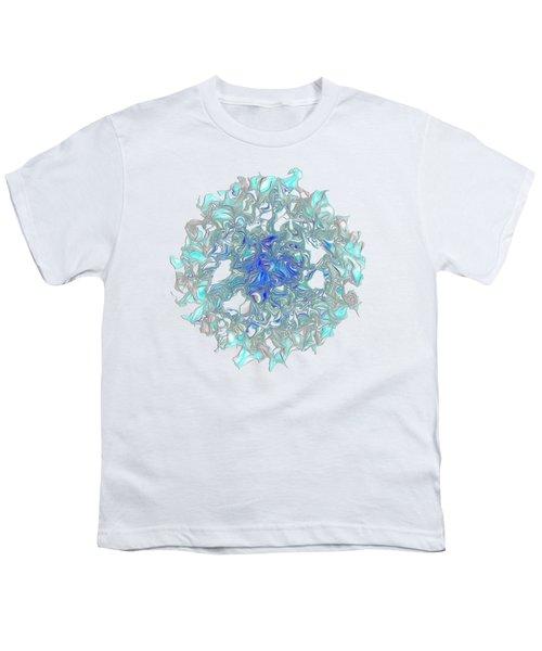 Aqua Art By Kaye Menner Youth T-Shirt by Kaye Menner
