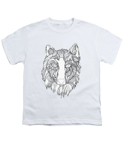 Arnou The Wolf Youth T-Shirt by Chikkas By Fran Galea