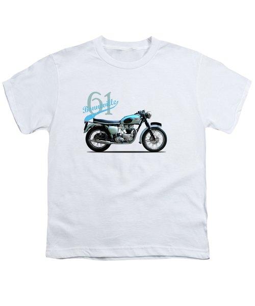 Triumph Bonneville Youth T-Shirt by Mark Rogan