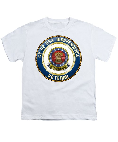Cv-62 Uss Independence  Youth T-Shirt