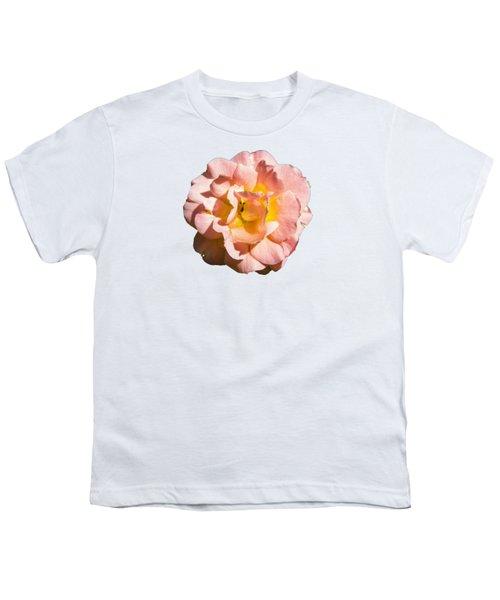 Peach Rose Youth T-Shirt