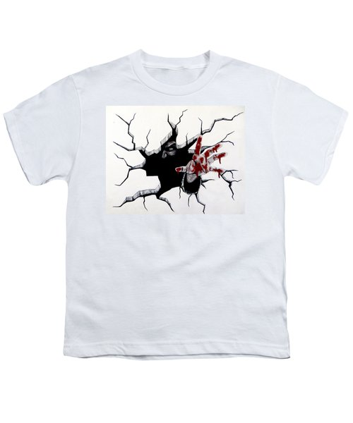 The Demon Inside Youth T-Shirt by Teresa Wing