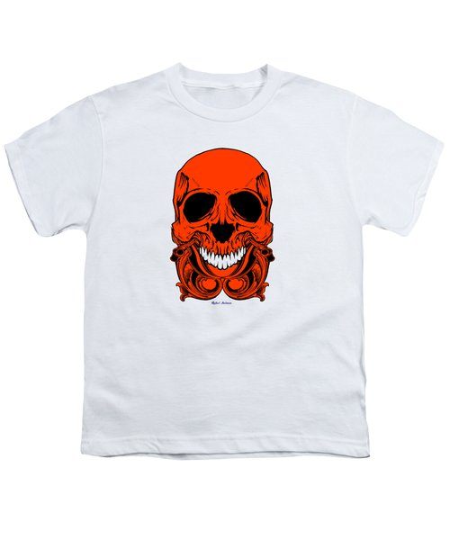 Red Skull  Youth T-Shirt