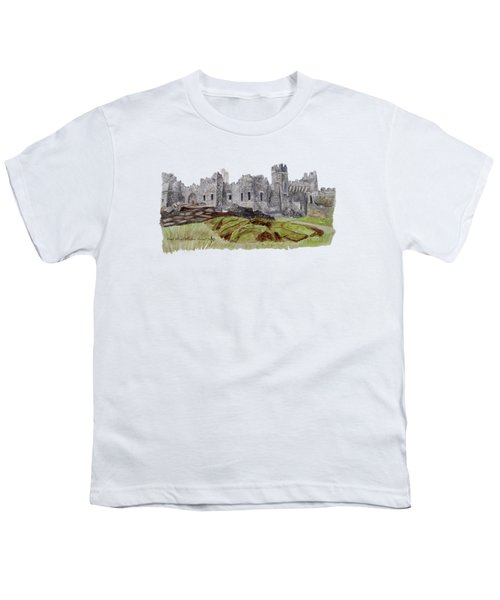 Castle Ward Youth T-Shirt by Angeles M Pomata
