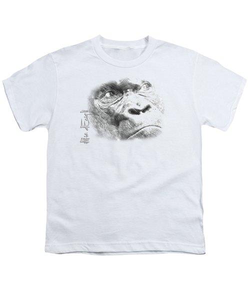 Big Gorilla Youth T-Shirt by iMia dEsigN