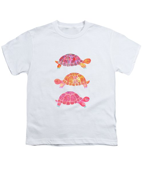 Turtles Youth T-Shirt by Laura Vitali