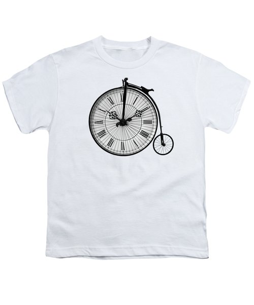 Time To Ride Penny Farthing Youth T-Shirt