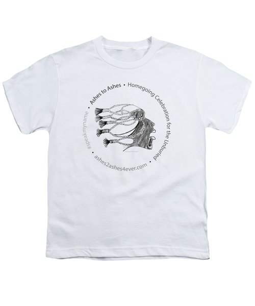 Ashes To Ashes Speak My Name Seal Youth T-Shirt by Shirley Whitaker