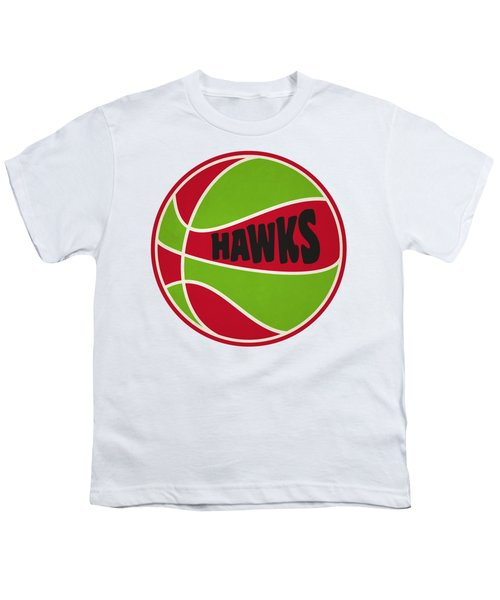 Atlanta Hawks Retro Shirt Youth T-Shirt