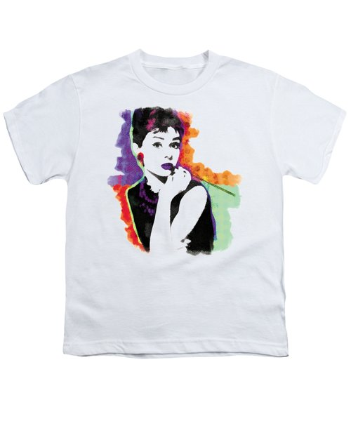 Audrey Hepburn Pop-art Youth T-Shirt