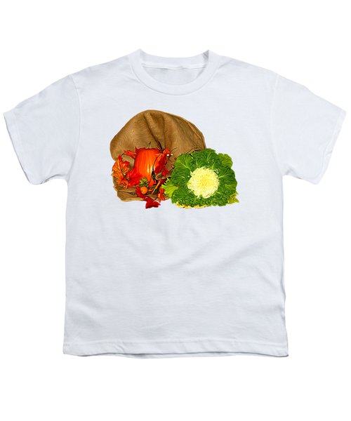 Autumn Display Expressionist Effect Youth T-Shirt