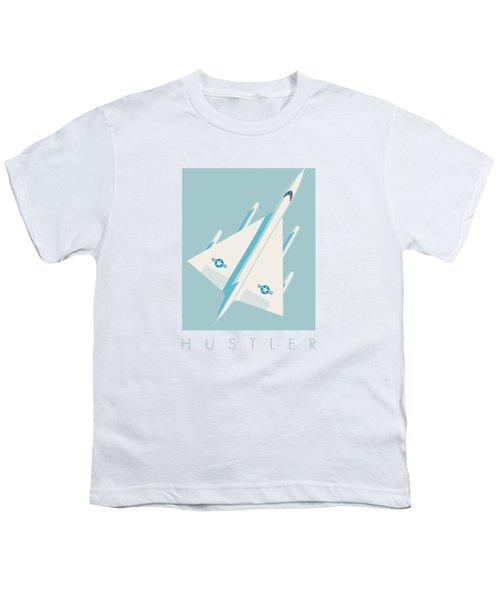B-58 Hustler Supersonic Jet Bomber - Sky Youth T-Shirt