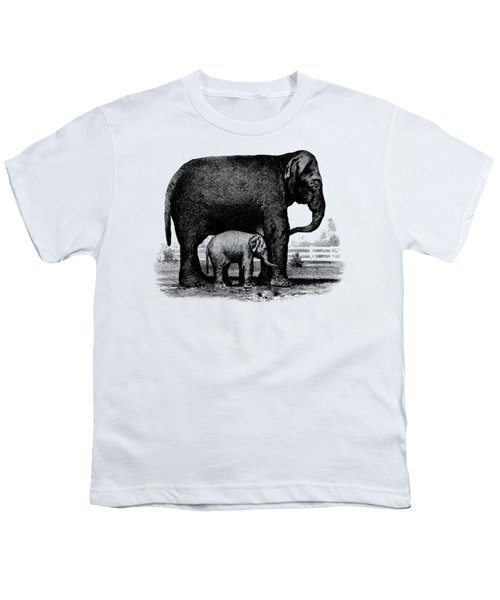 Baby Elephant T-shirt Youth T-Shirt