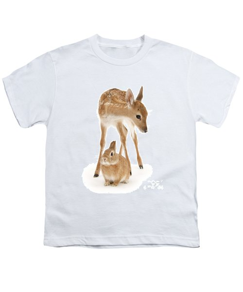 Bambi And Thumper Youth T-Shirt