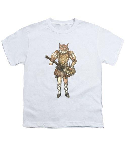 Banjo Cat Youth T-Shirt