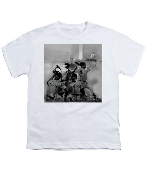 Base Ball Players Youth T-Shirt by Gull G