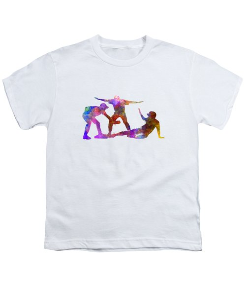 Baseball Players 03 Youth T-Shirt by Pablo Romero