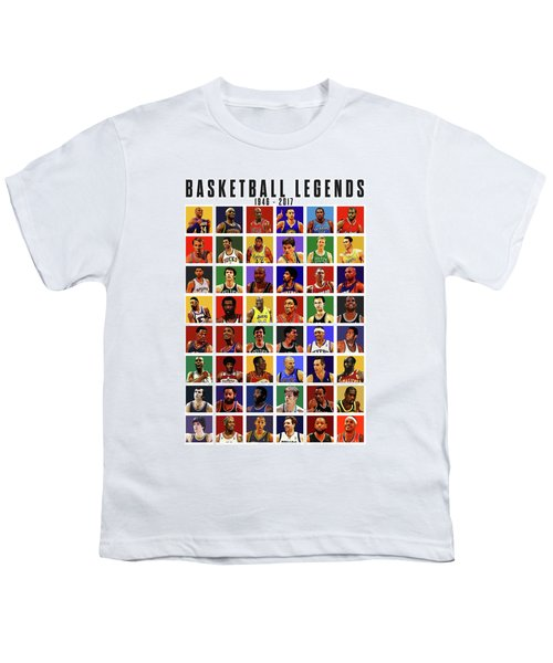 Basketball Legends Youth T-Shirt
