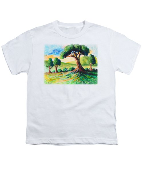 Basking In The Sun Youth T-Shirt by Anthony Mwangi
