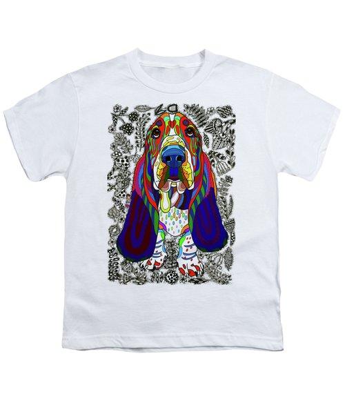 Basset Hound Youth T-Shirt